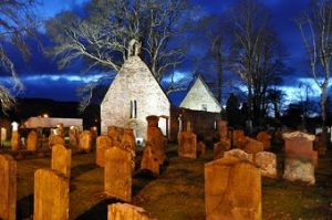 Auld Kirk Alloway where robert burns's father is buried