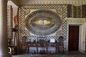 the armory room at culzean castle