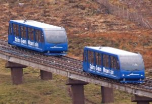 aviemore activities riding the cairngorm mountain funicular railway
