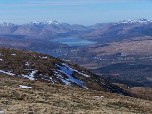 views from Aonach Mor