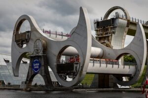the falkirk wheel scotland working